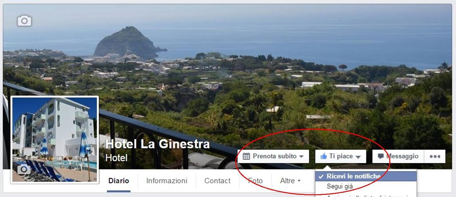 La Pagina Facebook? Mi Piace !!!