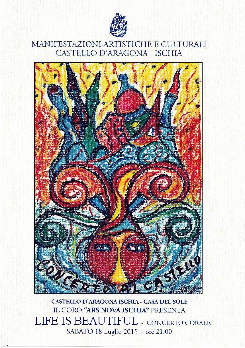 Concerto: Life Is Beautiful -Coro Ars Nova- Ischia 18 Luglio 2015