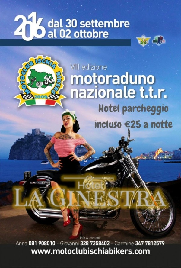 Speciale Motoclub IschiaBikers: VIII edizione motoraduno nazionale anno 2016